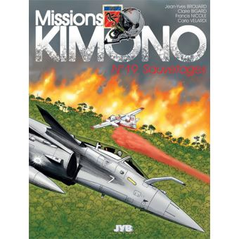 Missions Kimono - T19 Sauvetages - NICOLE Francis
